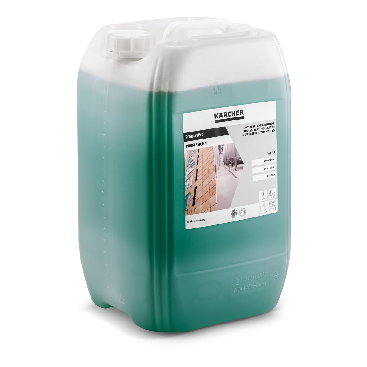 Aktív tisztítószer, semleges, RM 55 ASF, 20 L